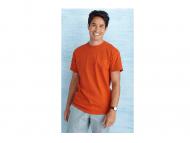 T-shirt Gildan Heavy Cotton, 185 grams voor gekrompen katoen.