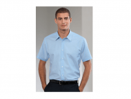 Men's Long Sleeve Easy Care Tailored Oxford Shirt 922M