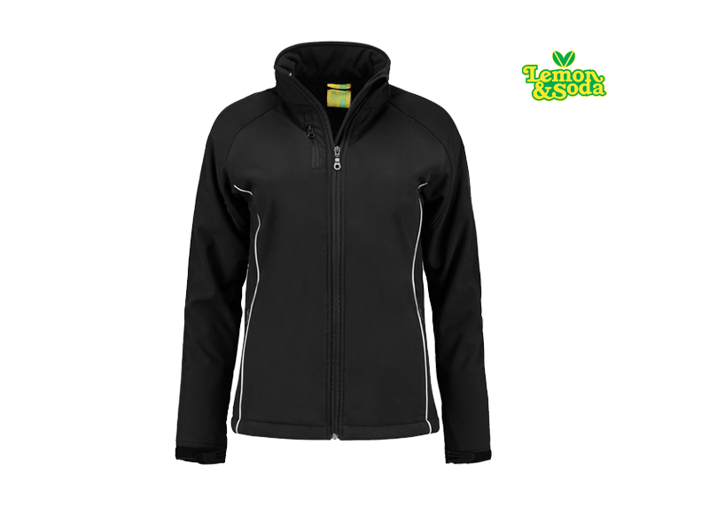 Lemon & Soda Jacket Softshell Voor Dames LEM 3634