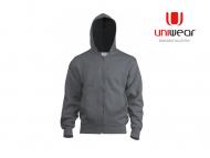 Uniwear-HJU-Hooded-Jacket__Sportgrey_Zwart