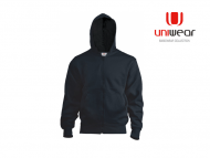 Uniwear-HJU-Hooded-Jacket__Zwart