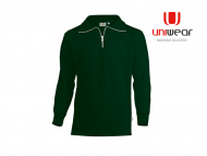 Uniwear-ZSU-Zipneck-Sweater__Bottlegreen