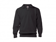 Uniwear Zipneck Band Sweater ZSBU