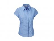 Russel Ladies Cap Sleeve Easy Care Blouse