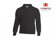 Uniwear-LSPU-Longsleeve-Polo__Donkergrijs