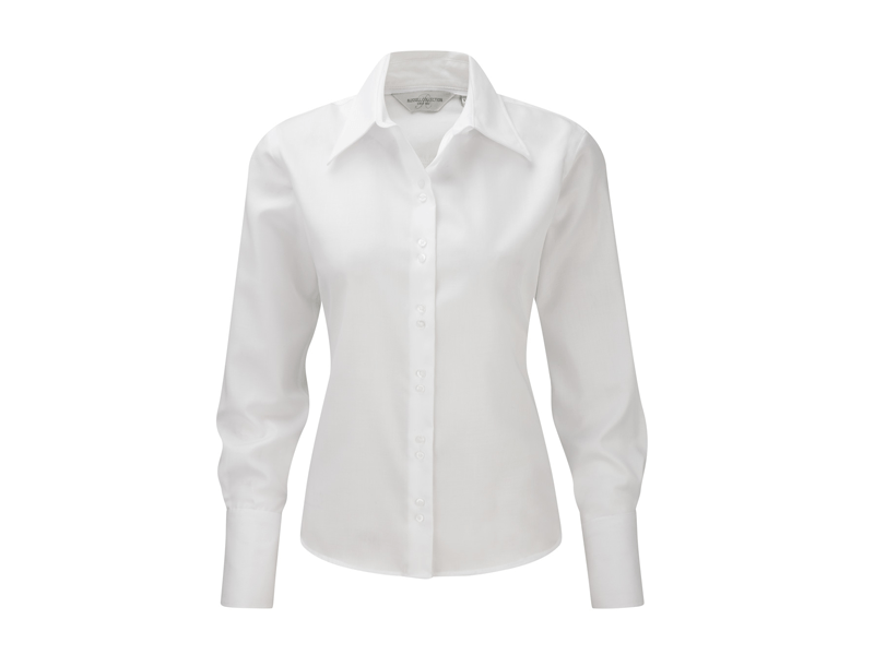 Extreem Russell R-956F-0 Dames Non Iron Shirt Lange Mouw LV41