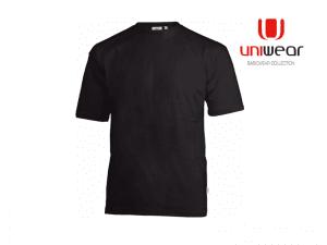 Uniwear-TS180U-T-shirt-180__Zwart