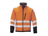 Snickers 1213 Soft Shell Jack High Visibility Klasse 3