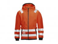 Snickers 8043 Micro Fleece Jack High Visibility Klasse 3