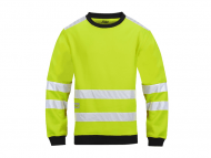 Snickers 8053 Micro Fleece Sweater High Visibility Klasse 3