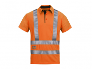 Snickers 2743 A.V.S. Poloshirt High Visibility Klasse 2 / 3