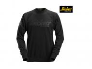 snickers-2882-Logo-Sweatshirt-Crewneck_zwart_0400