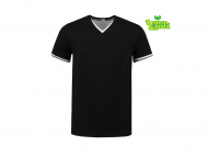 lemon-soda-LEM1263-T-shirt-double-v-cot-elast-for-him__zwart-wit-parelgrijs
