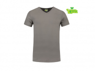 lemon-soda-LEM1264-T-shirt-v-neck-cot-elast-ss-for-him__parelgrijs