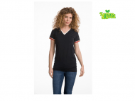 Lemon & Soda LEM1261 T-shirt-Double -V-cot-elast-SS-for-her_navy_wit_rood -