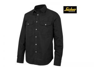 snickers-8513-Lite-Work-37.5-Shirt-Met-Lange-Mouwen_zwart-0400