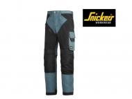 snickers-6303-Ruffwork-Werkbroek-zonder-Holsterzakken_petrol_zwart_5104