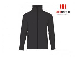 Uniwear-SSUL-Softshell-Jacket-Women__Zwart