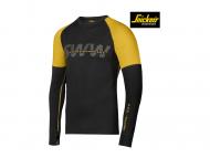 snickers-9415-T-shirt-Merino-Lange-Mouwen_zwart_geel_0426
