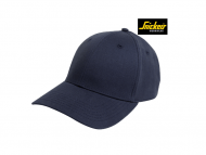 snickers-9074-Canvas-Cap_donkerblauw_9500