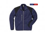 fristads-kansas-7451-PRKN-Fleece-Jack_blauw-zwart_597