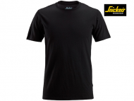 Snickers-2527-Wollen T-shirt_Black-0400