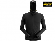 Snickers-8002-Polartec-Power Stretch-2_0 Full Zip Fleece Hoodie_Black-0400