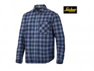 snickers-8501-RuffWork-Geruit-Flanellen-Shirt-Met-Lange-Mouwen_donkerblauw_wolkenblauw_9554.