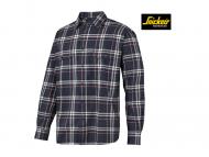 snickers-8502-RuffWork-Geruit-Flanellen-Shirt-Met-Lange-Mouwen_donkerblauw_chilirood_9516