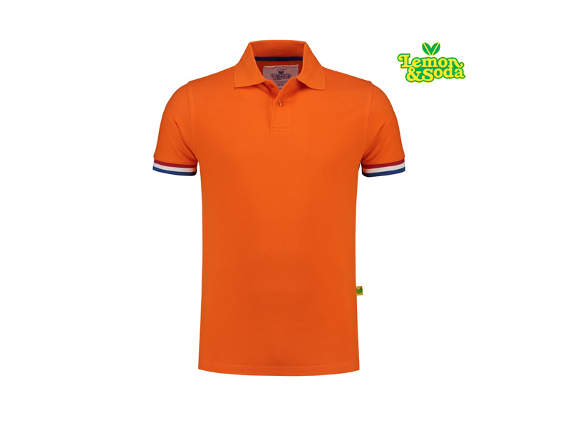 Lemon & Soda Polo Flag Korte Mouw LEM3505