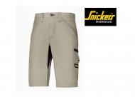 snickers-6102-Litework-37.5-Korte-Broek+Zonder-Holsterzakken_khaki_zwart-2004