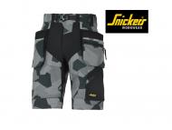 snickers-6904-FlexiWork-Werkshorts+Met -Holsterzakken_camo-grijs_zwart__8704