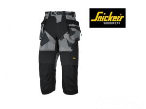 snickers-6905-FlexiWork-Pirate-Werkbroek+_ met Holsterzakken_Camo-Grijs_Zwart_8704