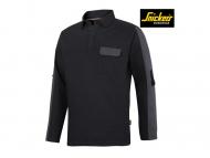 nickers-2607-AllroundWork-Rugby-Sweater_zwart_staalgrijs_0458