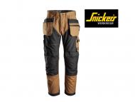 snickers-6202-Ruffwork-Werkbroek+ met-Holsterzakken_bruin_zwart_1204