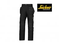 snickers-6206-LiteWork-37,5-Werkbroek + met holsterzakken_zwart_0404