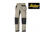 snickers-6207-LiteWork-37,5-Werkbroek met-holsterzakken_khaki-zwart_2004