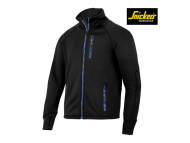 snickers-8001-FlexiWork-Stretch-Fleece-Jack_zwart_0400