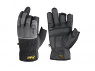 snickers-9586-Power-Open Gloves__zwart_steengrijs_0448