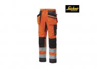 nickers-6230-AllroundWork-werkbroek-met-holster-zakken-klasse-2-high-vis-oranje-staalgrijs_5558