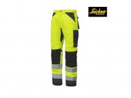 snickers-6331-AllroundWork-werkbroek-klasse-2-high-vis-geel-staalgrijs_6658