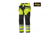 snickers-6932-FlexiWork-werkbroek-met-holster-zakken-klasse-2-high-vis-geel-zwart_6604