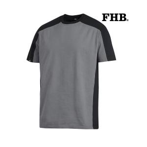 fhb-90690-tweekleurig-T-shirt-Marc_grijs_zwart_1120