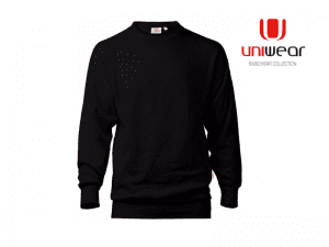 Uniwear-HDSU-Heavy-Duty-Sweater__Zwart
