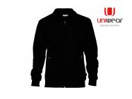 Uniwear-SJU-Sweatjacket__Zwart