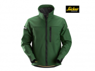 snickers-1200-Soft-shell-Jacket_forrestgreen_zwart