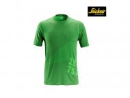 Snickers-2519-FlexiWork-37.5-Technologie-T-shirt_appelgroen_3700