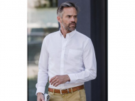 Russell-R-928M-Long Sleeve-Tailored-Button-Down-Oxford shirt_white