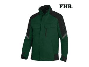 fhb-125900-werkjack-heren-Frank_groen_zwart_2520