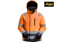 Snickers-1132-High-Vis-Waterproof-37_5-Isolerend-Jack-Klasse-3-High-Vis-Orange-Steel-Grey_5558